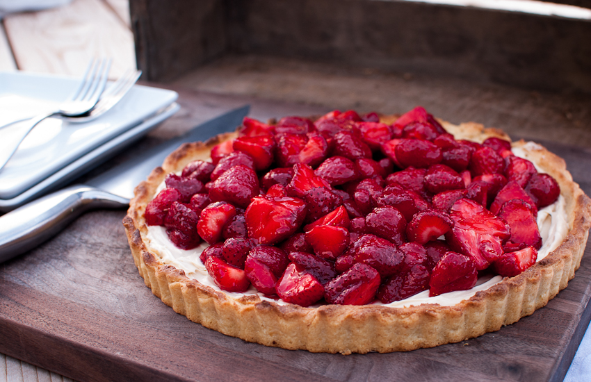 ... mascarpone tart sweet strawberry mascarpone strawberry lemon