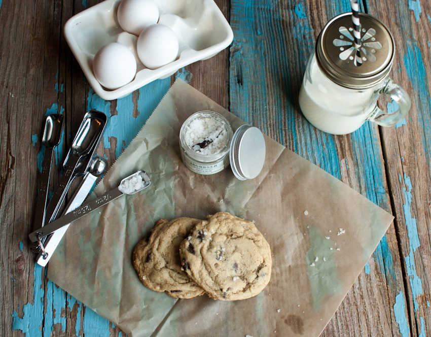 chocolate chip cookies with jacobsen salt