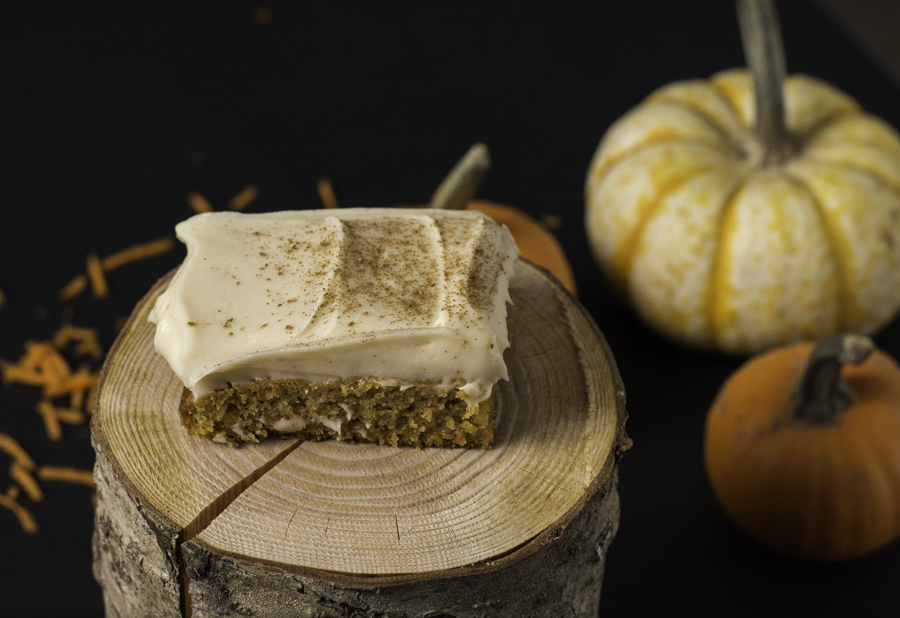 Pumpkin Carrot Bars and The Pumpkin Patch