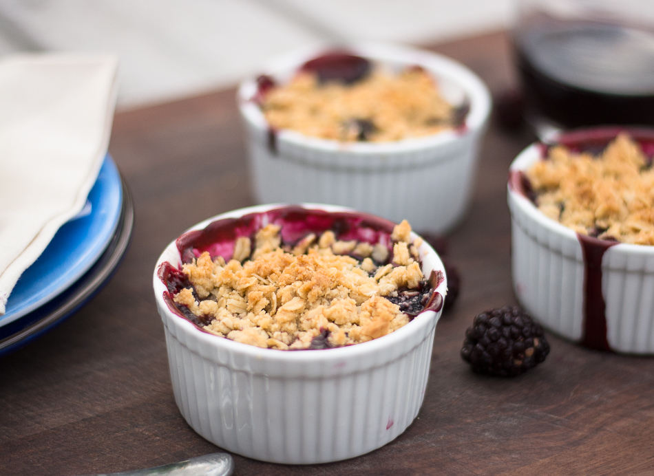 Blackberry Cabernet Crisp